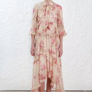 Zimmermann silk two pieces floral dress